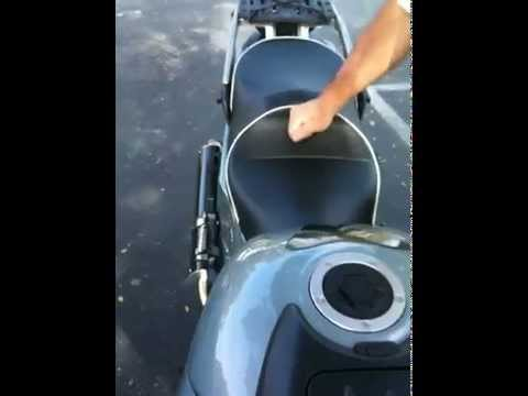 Sargent Motorcycle Seat On Kawasaki Concours 14 Youtube