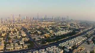DJI Phantom Vision 2+ @ Dubai Corniche - Sunset & Skyline with Burj Khalifa