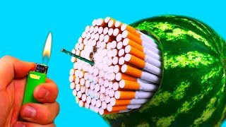 WOW! 7 SIMPLE LIFE HACKS WITH WATERMELON