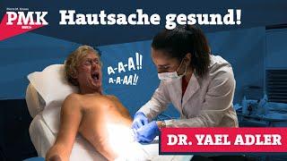 Dr. Yael Adler beschneidet Pierre M. Krause