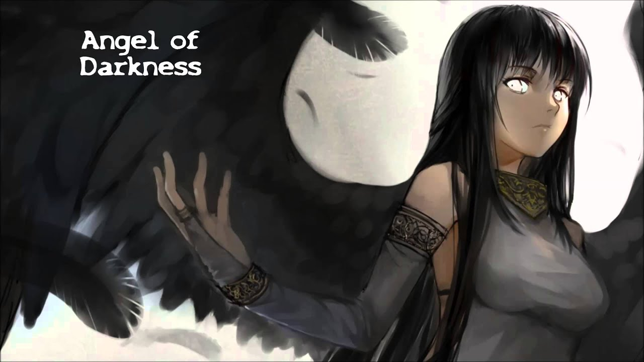 Girl With Wallpaper Dress Nightcore Angel Of Darkness Lyrics Youtube