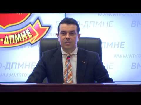 ВМРО ДПМНЕ промовираше Манифест за единствена Република Македонија