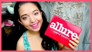 UNBOXING ♡ Allure Sample Society Box (October 2014) Thumbnail