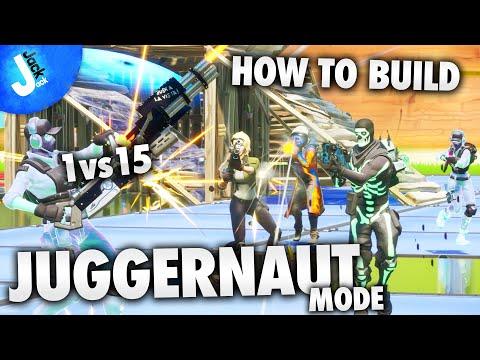 How To Build JUGGERNAUT 1vs15 Game Mode | Fortnite Creative Mode