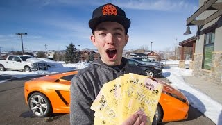 Driving to Wyoming to buy Powerball tickets for the $1.4 Billion Jackpot!