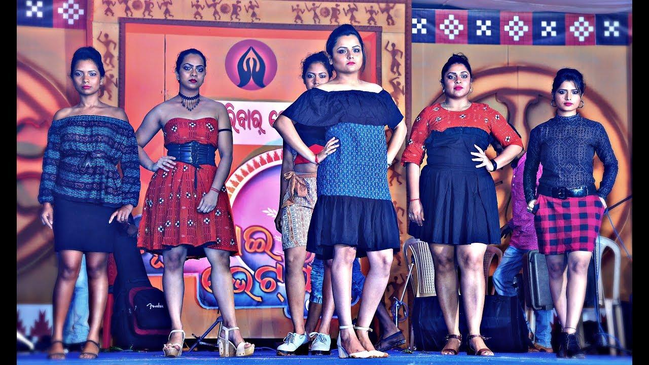 Sambalpuri Fashion Show Designer Priya Nayak Juhar Parivar Bangalore Youtube