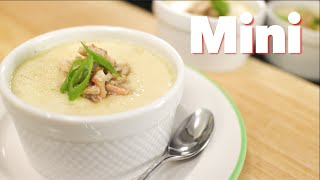 Steamed Egg With Crab & Mushrooms (mini) - Hot Thai Kitchen!