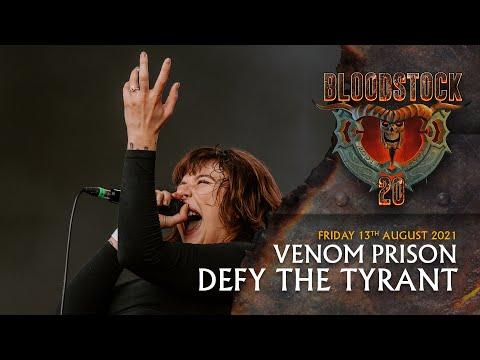 VENOM PRISON - Defy The Tyrant - Bloodstock 2021