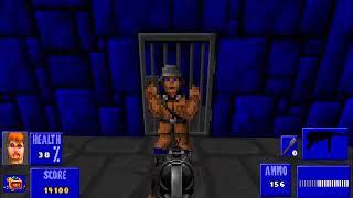 (No Commentary) Brutal Wolfenstein 3D Part 1