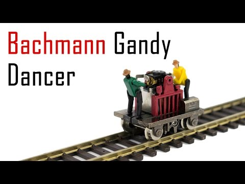 Unboxing the Bachmann Gandy Dancer