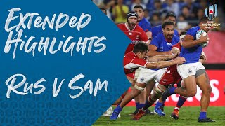 Extended Highlights: Russia v Samoa - Rugby World Cup 2019