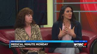 Danielle LaPointe and Dr. Kelly Schibler discuss the steps to treatment on WTOC - TV