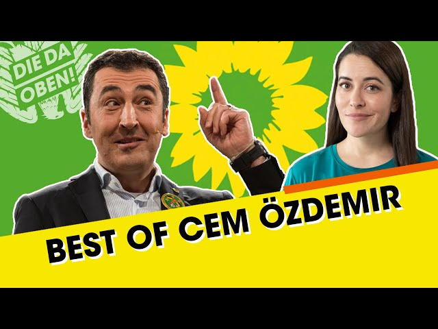 Best of Cem Özdemir: Rassismus, AfD und Erdogan