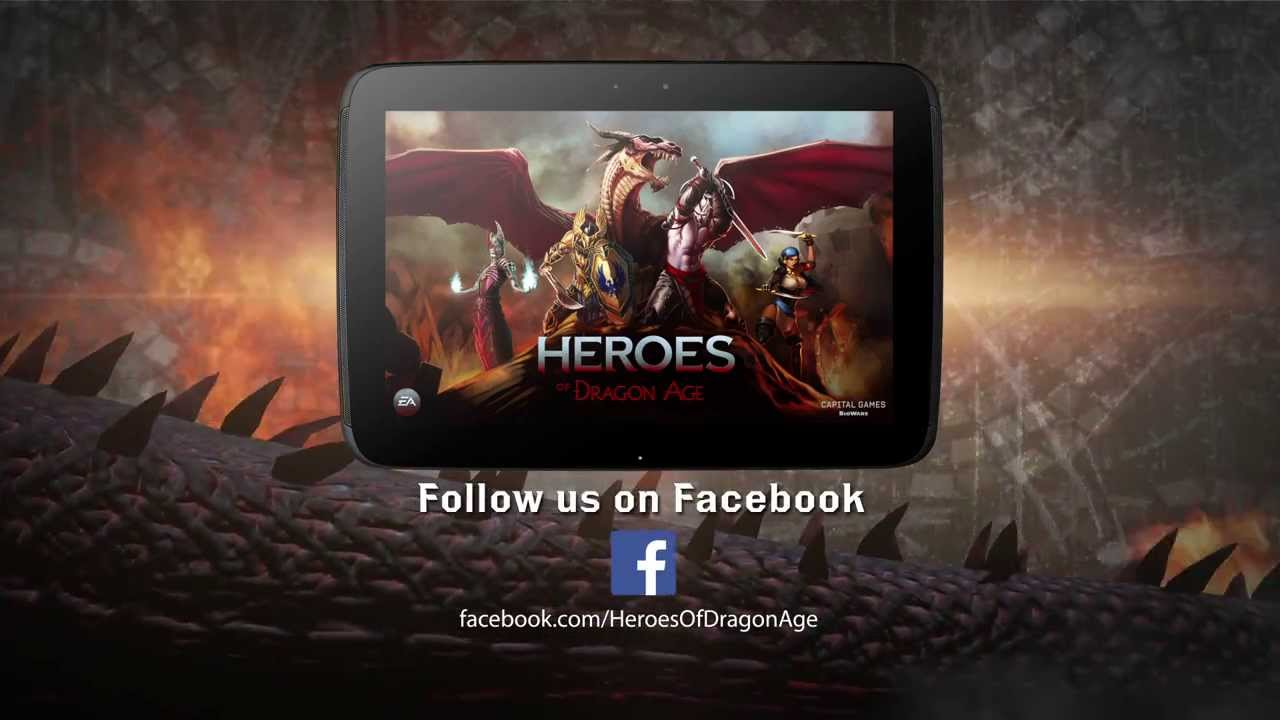 Heroes of Dragon Age for Google Play