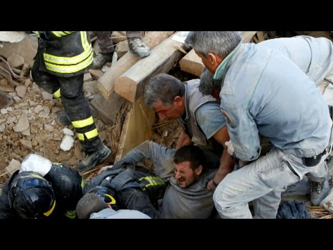 Death toll rises in Italy earthquake