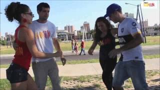 Rueda Flash Mob, AsunciÓn Paraguay 29/03/2014 Asunson