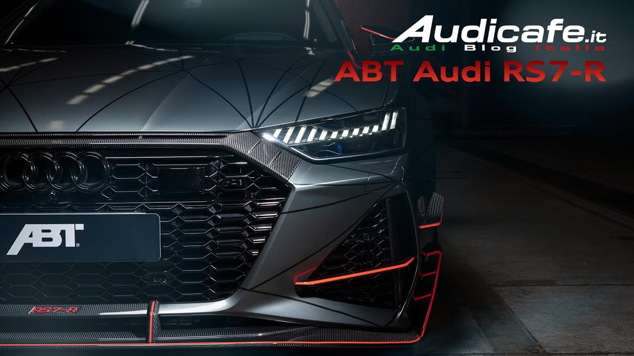 Audi Rs7 R Sportback 2020 740hp By Abt Sportsline New Monster Youtube
