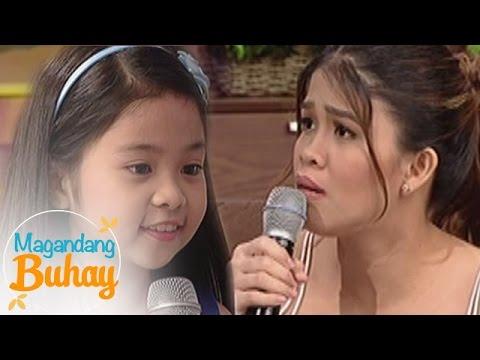 Magandang Buhay: Myel exhibits her acting skills