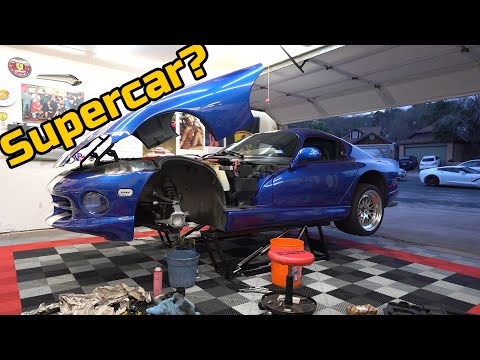 DODGE VIPER GTS DIY Ball Joint & Wheel Bearing Replacement