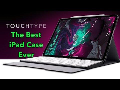 Touchtype Pro, The Best IPad Case Using Apple Magic Keyboard By SharkyKorea