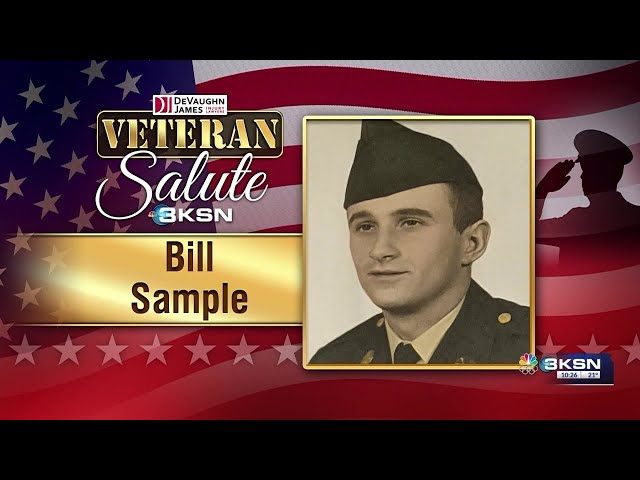 Veteran Salute: Bill Sample