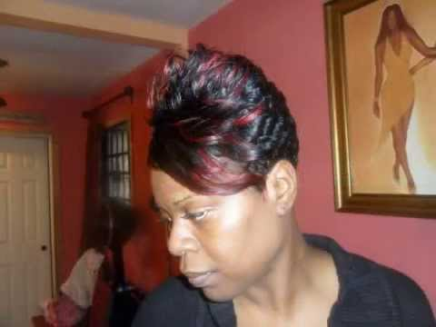 Black women short hairstyles & precision hair cuts | Black hair ...