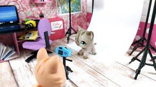 DIY Miniature Youtube Studio / Office for LPS, Shopkins, & Lol Dolls!