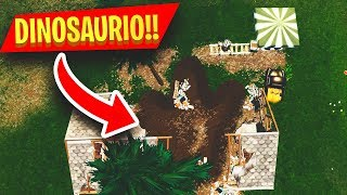 *NEW* EASTER EGG DINOSAURIO *HUELLA* AND NEW PLACES *SECRETOS* IN FORTNITE: BATTLE ROYALE