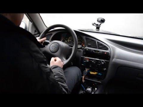 Daewoo Chevrolet ZAZ Lanos установка панели приборов с тахометром
