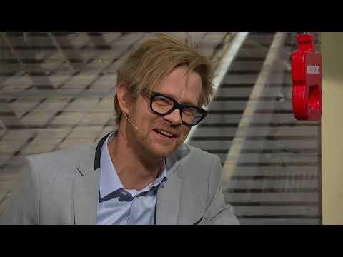 Ankan lämnar över ord och bild i På Spåret ft. Fredrik Lindströms skratt  På Spåret 2018
