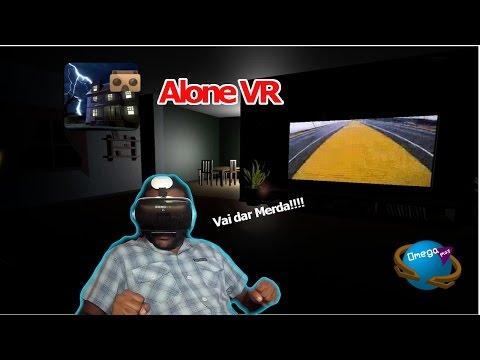 """Sozinho em Casa """"VAI DAR MERDA"""" [Alone VR] Omega Play"""