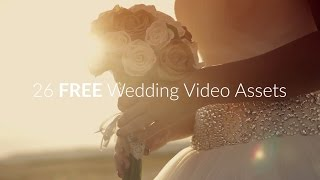 26 FREE Wedding Assets