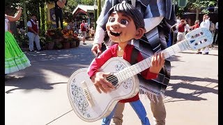 "Miguel puppet in ""A Musical Celebration of Coco"" Disneyland"