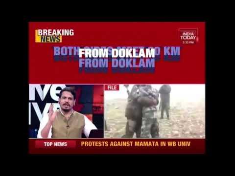 5ive Live: Big Development In India-China Army Standoff In Doklam