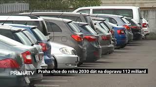Praha chce do roku 2030 dát na dopravu 112 miliard