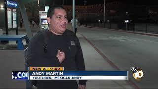 Dozens of migrants breach border wall in San Diego thumbnail