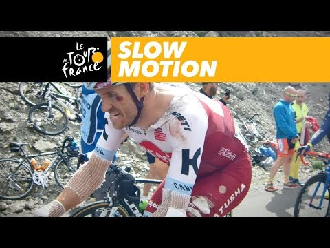Hard time in the Alps and Marseille - Slow Motion - Tour de France 2017