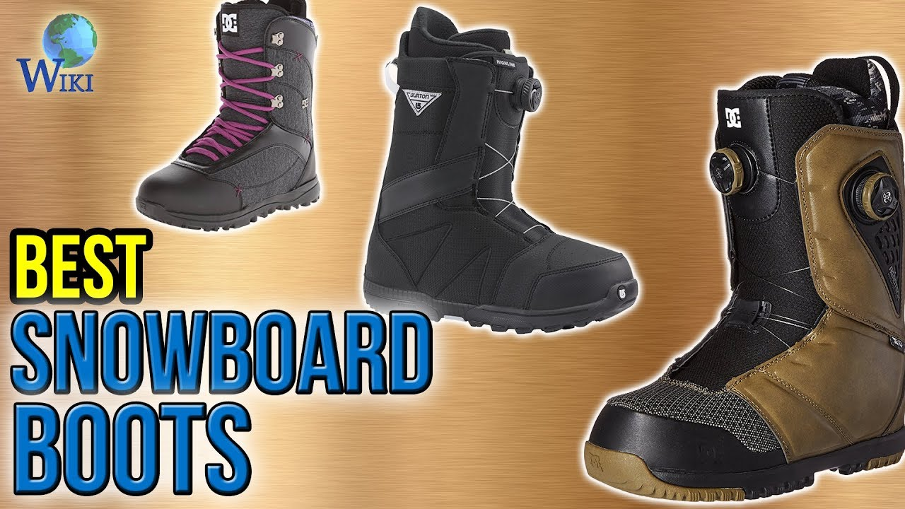 9 Best Snowboard Boots 2017 Youtube