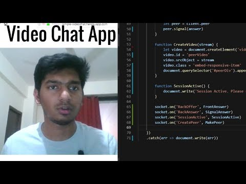 Build Video Chat Web App From Scratch In 40 Mins