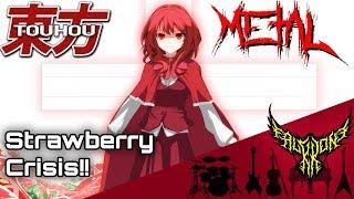 Download lagu Touhou 3 PoDD - Strawberry Crisis!! (Yumemi Okazaki) 【Intense Symphonic Metal Cover】