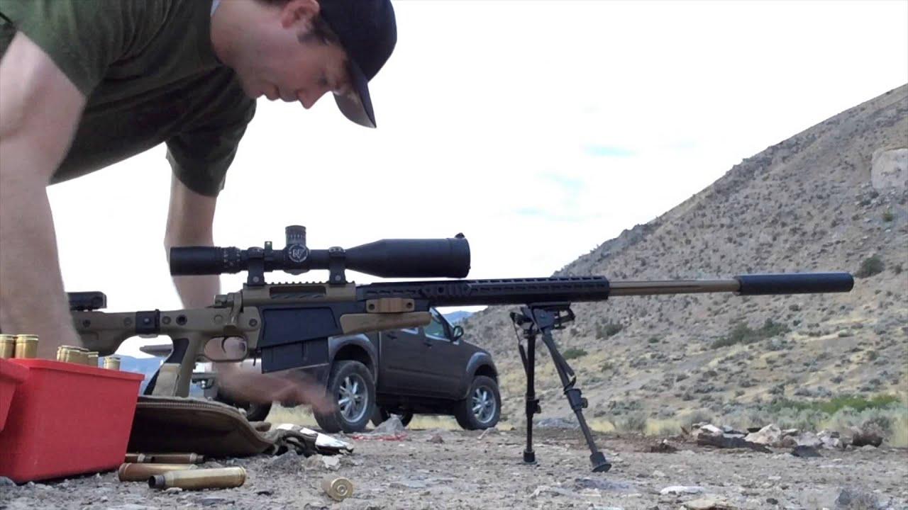 Muzzle Brake vs  Suppressor on a 7mm-300 Win Mag  Templar Tactical  Archangel Suppressor