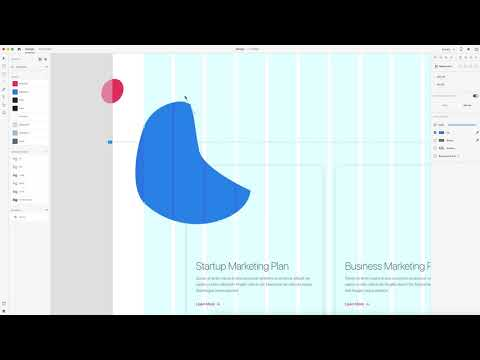 Adobe XD Landing Page Design Tutorial with unDraw