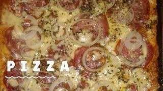Como fazer pizza com massa de liquidificador