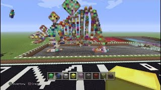How to build a stegoaurus in Minecraft part 4