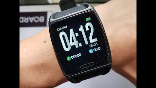First Look And Review Of The V2 Fitness Heart Rate Tracker Smartwatch