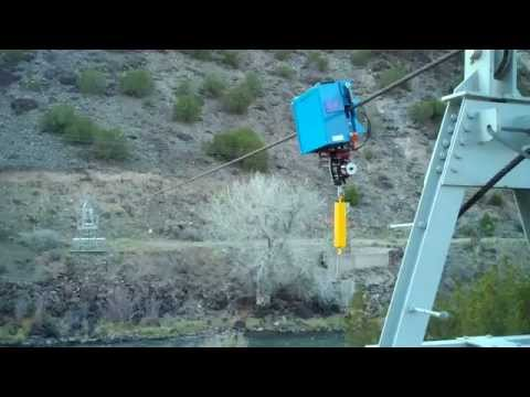 Cable Fox demonstration Rio Grande near Embudo, NM
