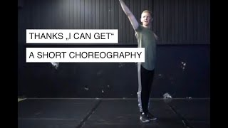 I can get - Thanks / Jazz Funk Solo Dance Choreography / Paul Hilgedieck