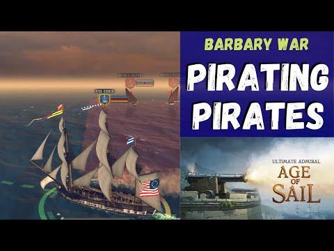 Ultimate Admiral: Age of Sail - Pirating Pirates - Barbary Wars #1