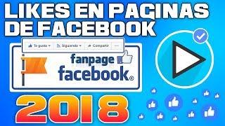 Como Tener Likes En Paginas De Facebook | Unión JhoSt | 2018 ✅