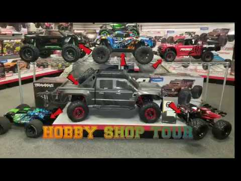 HOBBY SHOP TOUR 🤔